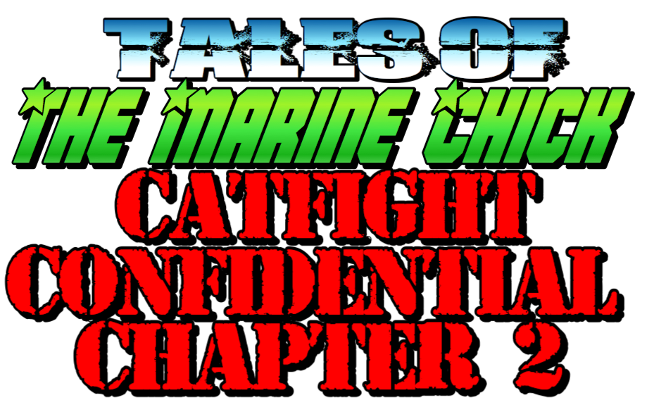 Tales of the Marine Chick: Catfight Confidential: Chapter 2 by Anna the Marine Chick
