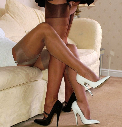 When Pantyhose Vie