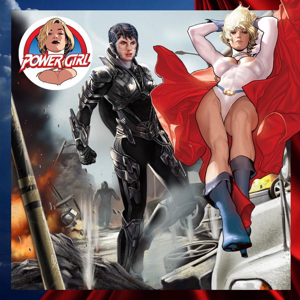 Short Comic Tales: Power Girl vs. Faora